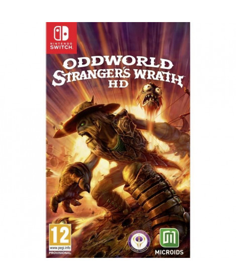 Oddworld La Fureur de l' Etranger Edition Standard Jeu Nintendo Switch