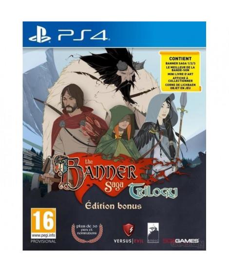 The Banner Saga Trilogy Edition Bonus Jeu PS4