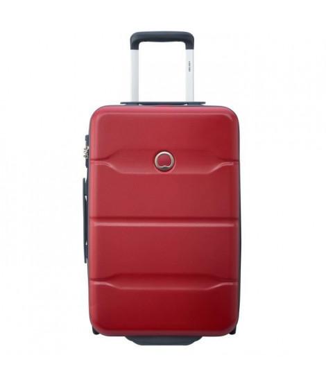 EASY TRIP Valise Trolley Cabine Slim 55 cm - 2 roues + TSA Rouge