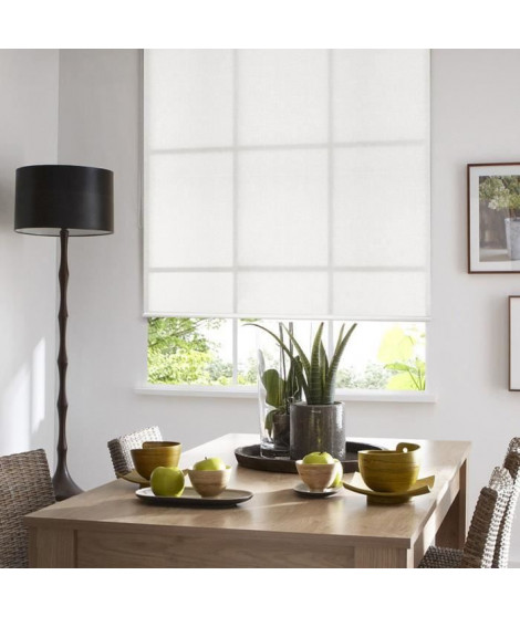 MADECO Store enrouleur tamisant Must - Blanc - 62x190 cm
