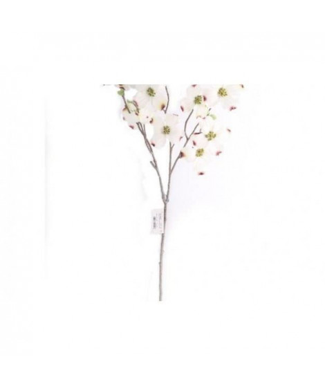 Branche décorative Dogwood - 69 x 34 cm - Blanc