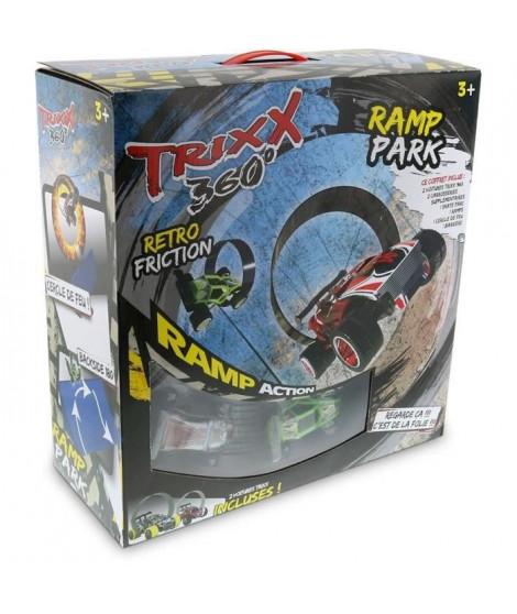 Modelco - Trixx Big Set - Coffret 2 voitures a friction + piste