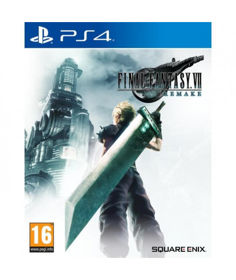 Final Fantasy VII: Remake Jeu PS4