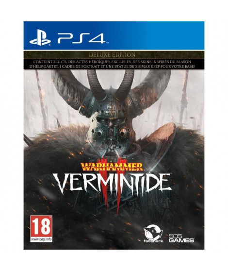 Warhammer Vermintide 2 Deluxe Edition Jeu PS4