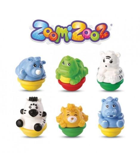 ZOOMIZOOZ - COFFRET 6 ANIMAUX JUNGLE