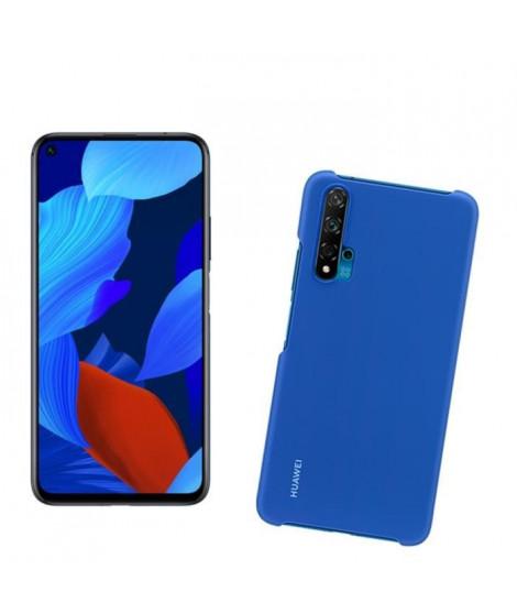 HUAWEI Smartphone Nova 5T Noir + PC Coque Bleu