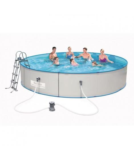 BESTWAY Kit piscine ronde Hydrium Splasher Pool - Ø 460 x H 90 cm