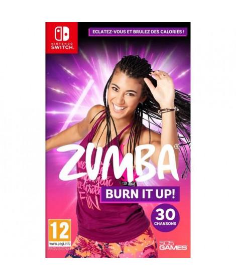 Zumba Burn It Up Jeu Switch