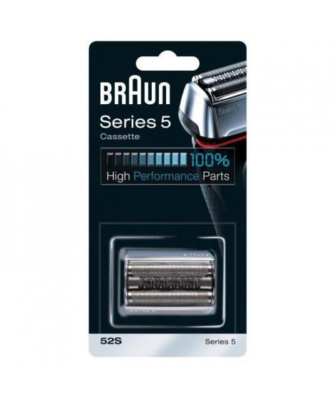 Piece De Rechange compatible avec les rasoirs Series 5 - BRAUN 52S Argentée