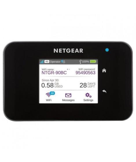 NETGEAR Routeur mobile 4G+ Hotspot AirCard 810 - Wi-Fi 600Mbps - Noir