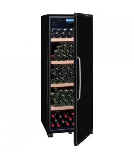 LA SOMMELIERE CTPNE186ACave de vieillissement porte pleine - A+ - 194 bouteilles - Noir