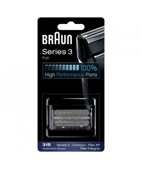 Braun 31B Noire Piece De Rechange compatible avec les rasoirs Series 3