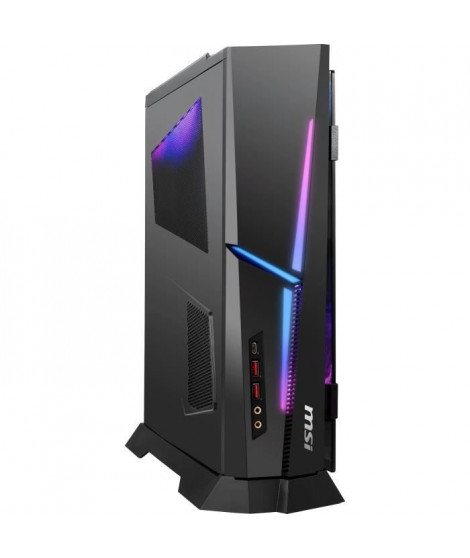 Unité Centrale Gamer - MSI Trident X Plus 9SF-829FR - Core I7-9700KF - RAM 32Go - Disque dur - RTX 2080Ti 11Go - Windows 10