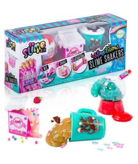 SO SLIME DIY - Slimelicious 3 Packs - Milk / Bubble Gum / Choco