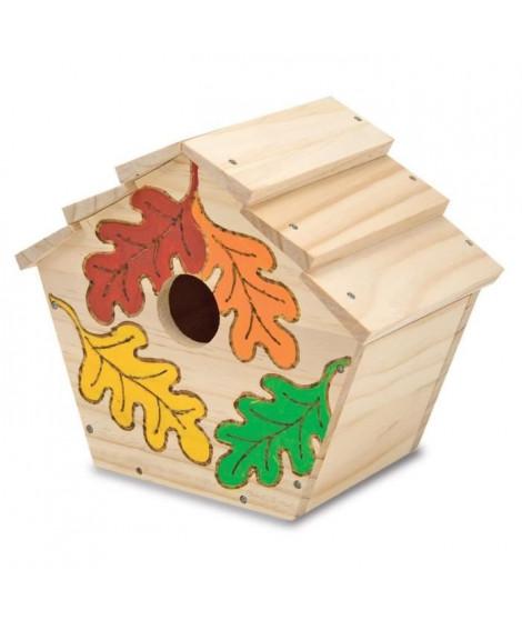 MELISSA & DOUG Bâtissez Votre Propre Cabane a Oiseaux En Bois