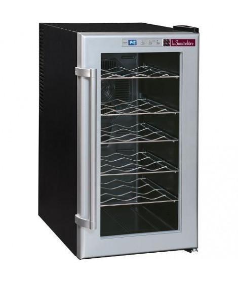 LA SOMMELIERE LSC18 - Cave de mise a température 18 bouteilles - Froid brassé - Thermostat électronique