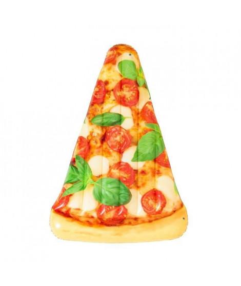 BESTWAY Matelas de plage gonflable Pizza Party 188 x 130 cm