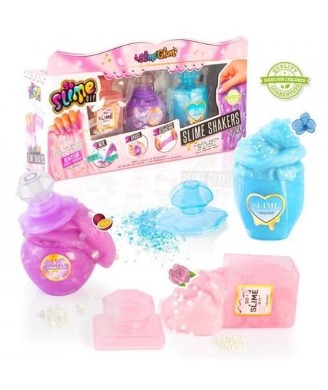 SLIME'GLAM DIY Kit de slime parfumée a créer soi-meme - SSC 090 - Lot de 3 shakers parfums