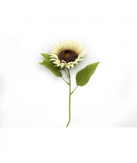 Tige tournesol blanc - 71 x 19 cm