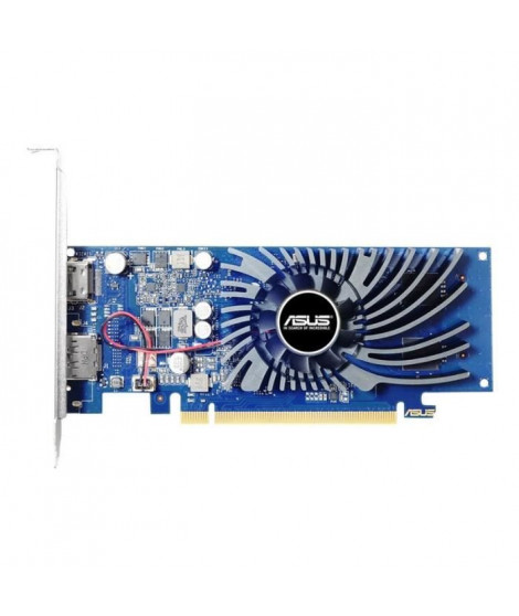 ASUS GT1030-2G-BRK Carte graphique GF GT 1030 2 Go GDDR5 PCIe 3.0 low profile HDMI, DisplayPort