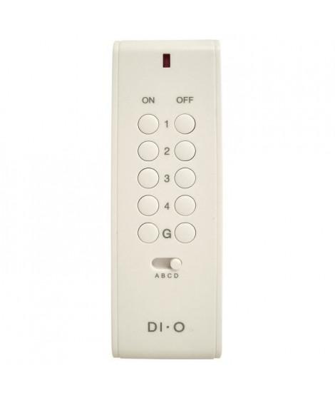 CHACON Télécommande 16 canaux DiO pour la gestion d'appareils électriques