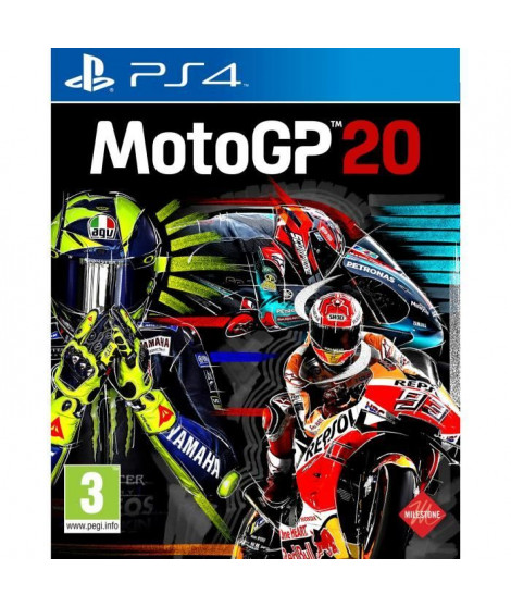 Moto GP 2020 Jeu PS4
