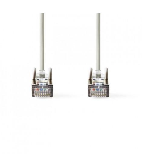 Cable Réseau Cat 5e SF-UTP | RJ45 Male - RJ45 Male | 2,0 m | Gris     ALPEXE-962
