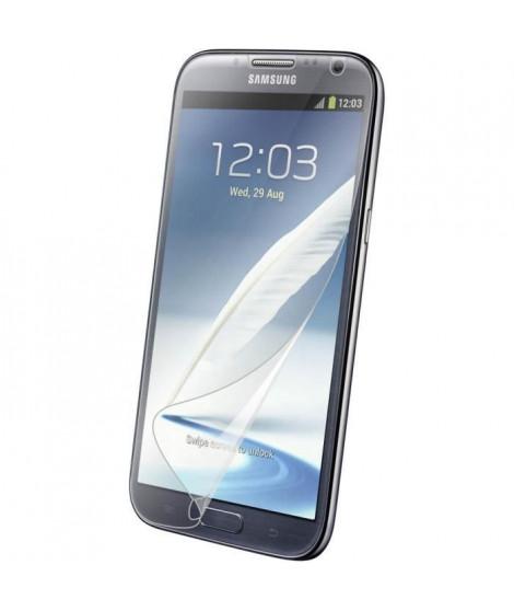 BLUEWAY Lot de 2 proteges-écran  pour Galaxy Note 2 N7100 - Transparent