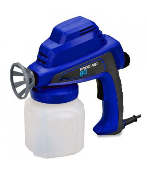 DOMAC Pistolet de pulvérisation Prod'Air 80 - Haute pression - 80 W - Bleu
