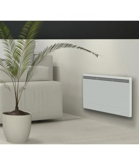 CARRERA New Moala 1500 watts Radiateur électrique a inertie céramique + Film chauffant - Chaleur Douce - Programmation LCD