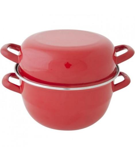 COSY & TRENDY Marmite a moule - D24cm Rouge-Nouv-4Kg