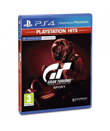 Gran Turismo Sport PlayStation Hits Jeu PS4