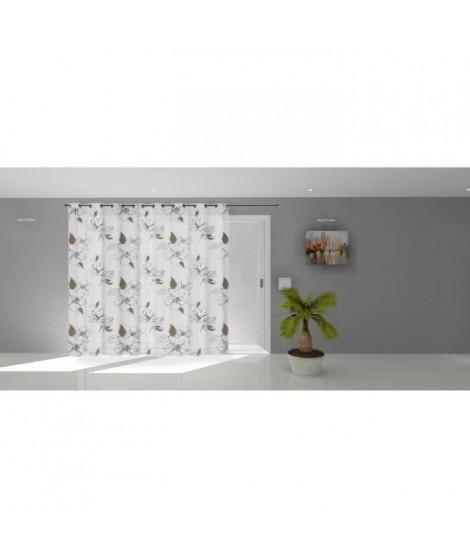 SOLEIL D'OCRE Voilage a oeillets Lucile - 280 x 250 cm - Blanc