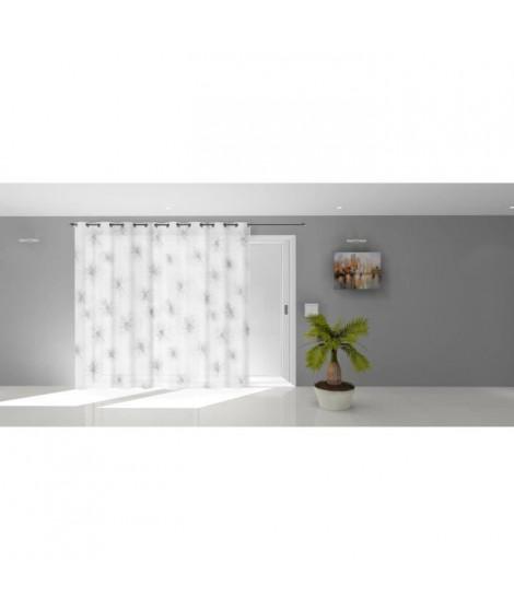 SOLEIL D'OCRE Voilage a oeillets Lionel - 280 x 250 cm - Blanc