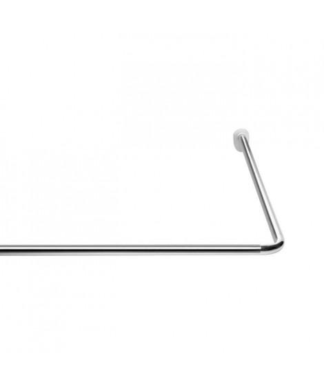 Barre d'angle universelle - ø 25 mm - Chrome