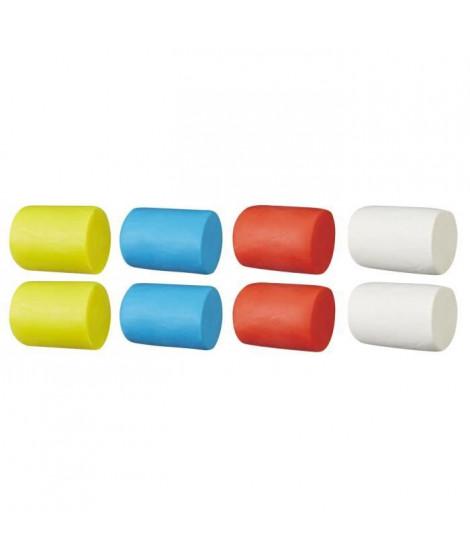 Play-Doh – 8 pots de Pâte A Modeler 4 couleurs – Le Super Baril - 112 g chacun