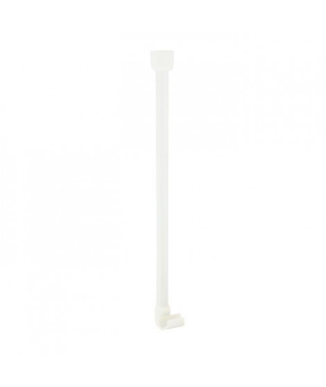 Support pour barre d'angle - ø 25 mm - Blanc