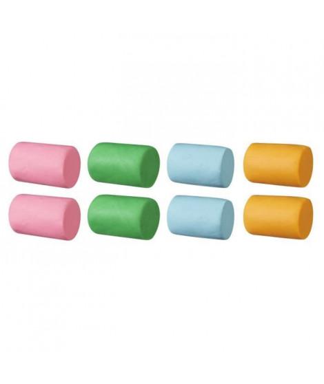Play-Doh – 8 pots de Pate A Modeler 4 couleurs – Le Super Baril - 112 g chacun