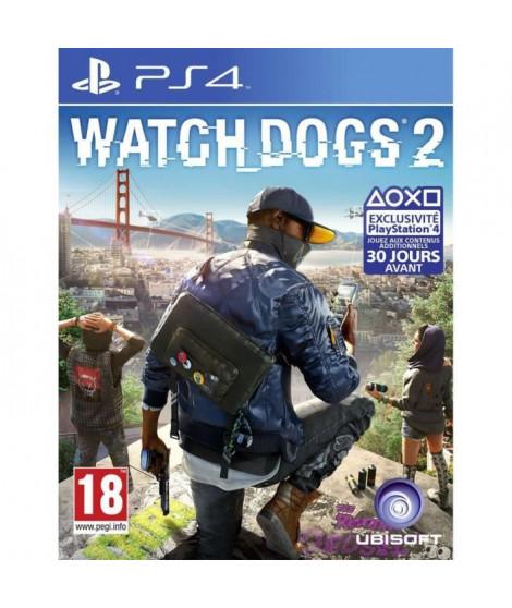 Watch Dogs 2 Jeu PS4