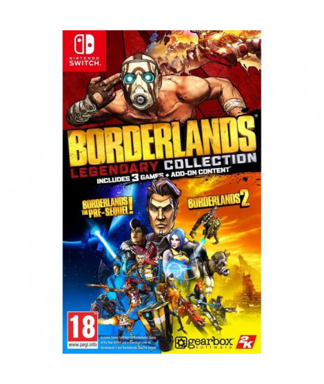 Borderlands Legendary Collection Jeu Nintendo Switch