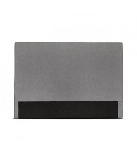 CUADRO Tete de lit - 150x120cm - Gris clair