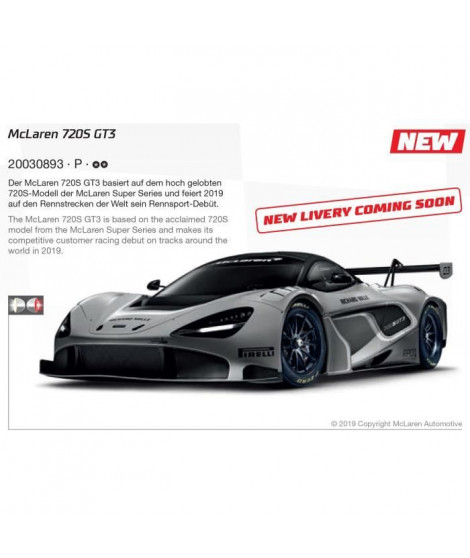 CARRERA DIG132 McLaren 720S GT3 Compass Racing - No.76