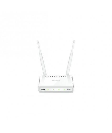Point d'acces Wireless D-LINK 300Mbps - Routeur D-Link DAP-2020 - Open Source Linux  - 802.11 b/g/n - 1 port 10/100 - WPS