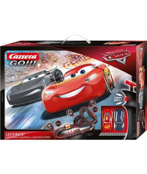 CARRERA GO!!! - 62475 Coffret Disney·Pixar Cars - Let's Race!