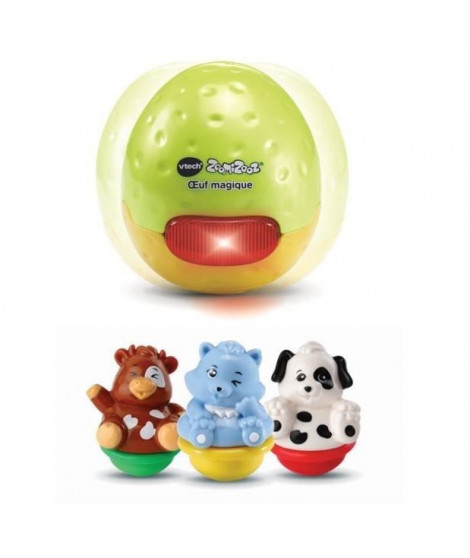 VTECH - 525705 - Zoomizooz - oeuf Magique (+ 3 animaux)