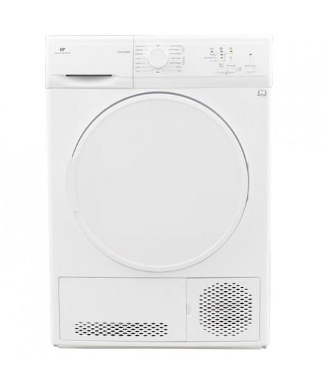 CONTINENTAL EDISON Seche-linge condensation 8 kg, Classe B, porte plastique, blanc