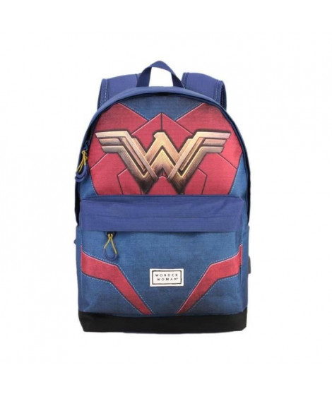 WONDER WOMAN Sac a Dos HS Emblem