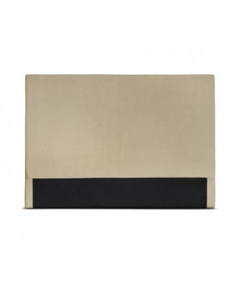 CUADRO Tete de lit - 150x120cm - Jaune clair