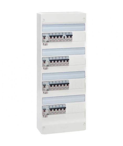 LEGRAND Tableau électrique équipé précâblé Evolué spécial pour logement T6