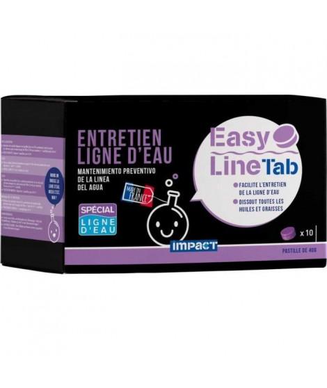 IMPACT Pastille d'entretien préventif ligne d'eau Easy line tab - 40 g - Violette
